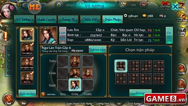 Đồ họa và gameplay của Ải Tam Quốc