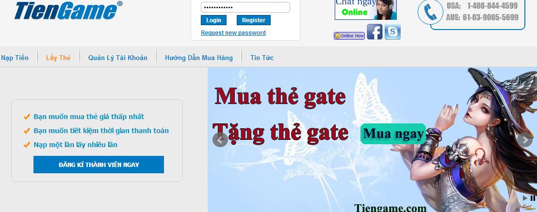 Bí quyết Mua thẻ gate online giá rẻ