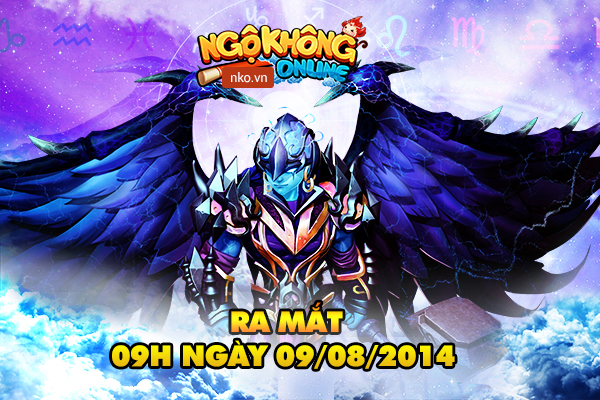 Gamer Việt sẽ được gặp Ngộ Không Online vào ngày 9/8/2014
