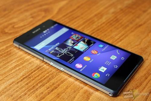 Sự xuất hiện của Sony Xperia Z3  làm lo lắng nhiều hãng Smartphone chuyên cho game