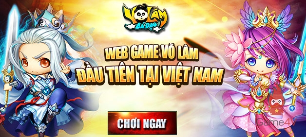 Game mới Võ Lâm Bá Đạo chuẩn bị ra mắt tại Việt Nam
