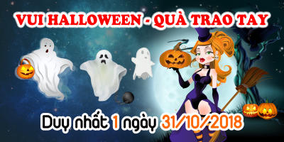 Vui Halloween - Quà Trao Tay