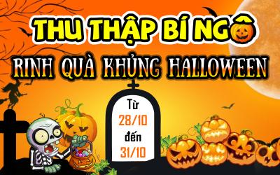 Thu Thập Bí Ngô- Rinh Ngay Quà Khủng Halloween