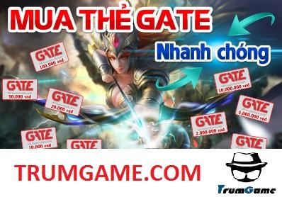 Cách Mua Thẻ Gate Online Nhanh Chóng Nhất Thị Trường