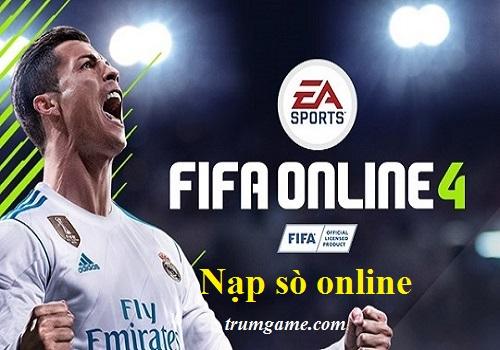 Nạp Sò Siêu Nhanh Cho Fifa Online 4
